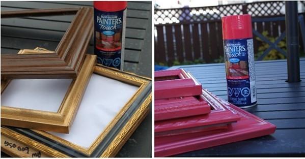 Чем покрасить деревяннуюрамку