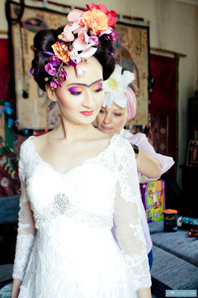 Makeover wedding